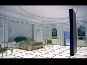 End scene from 2001 A Space Oddessy