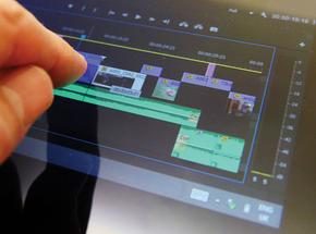 Adobe' Premiere on SurfacePro Tablet