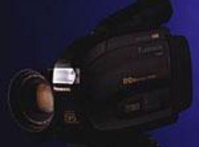 Edit Control Jack Distinguishes Panasonic Camera