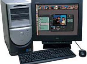 Dell Editing Computer Review :Dell Dimension 8100