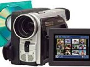 Hitachi Camcorder Plays Back on Home DVD Players
