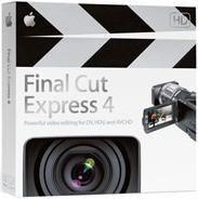 Apple Final Cut Express 4 Video Editing Software Review
