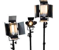 2009 Best Video Light Kit- Videssence KSH2057P-SB Triple Fixture Review