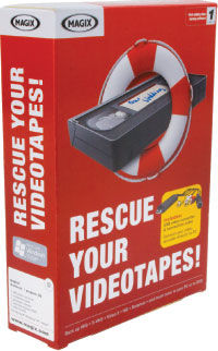 MAGIX Rescue Your Videotapes! Video Rescue Package Review