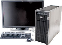 HP Z800 Computer Workstation Review