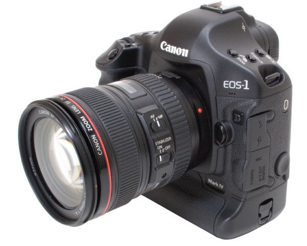 Canon EOS 1D Mark IV Digital SLR Camera Review
