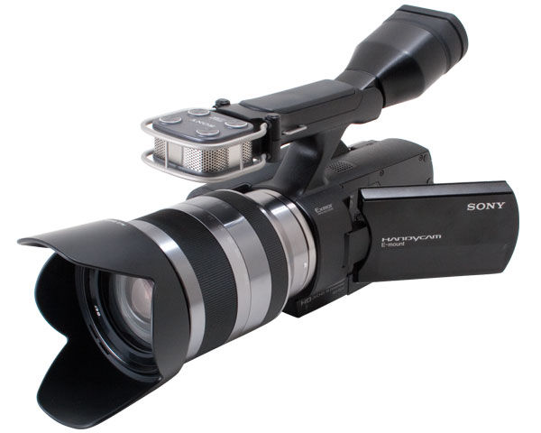 Sony NEX-VG10 Camcorder with Interchangeable Lens Reviewed