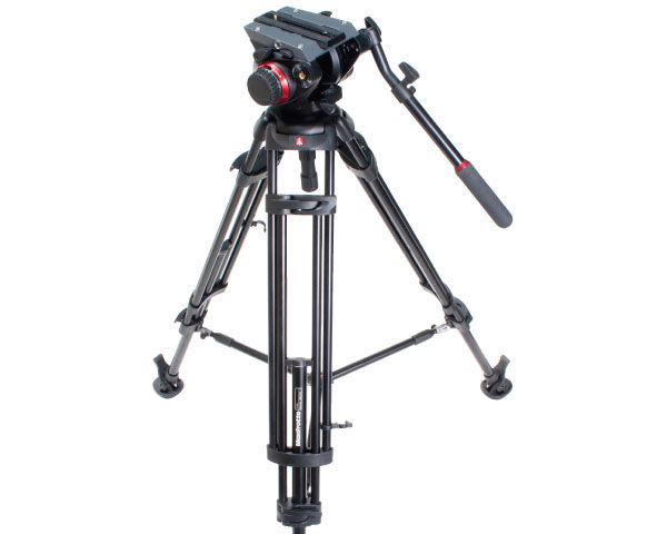 Manfrotto 504 HD Head with 546B Two-stage Aluminum Tripod System Reviewed
