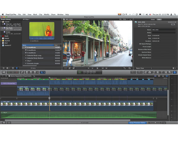 FCPX, Apple's Final Cut Pro X Editing Software Reviewed