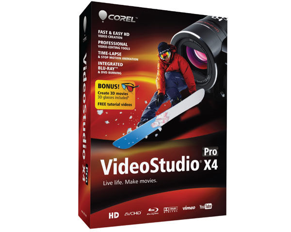Corel VideoStudio Pro X4 Introductory Editing Software