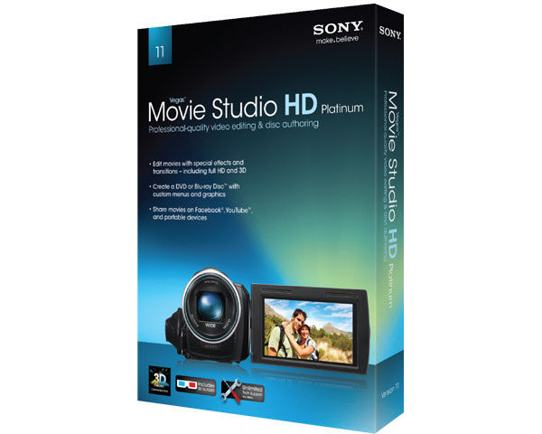 Sony Vegas Movie Studio HD Platinum 11 Editing Software Review