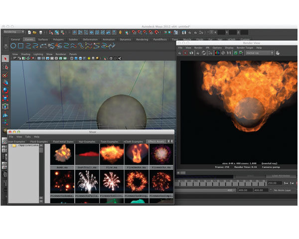 Autodesk Maya Entertainment Creation Suite Premium 2012 3D Graphics and Special Effects Software Review