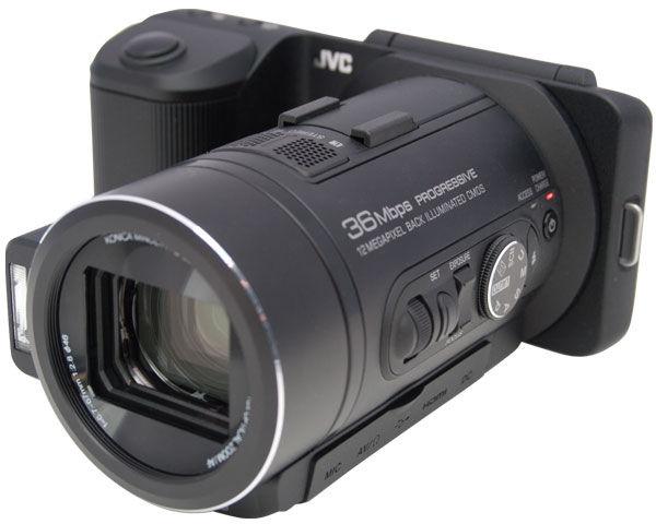 JVC GC-PX10 Hybrid Still/Video Camcoder Review