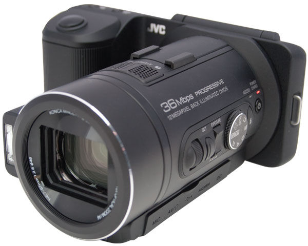 JVC GC-PX10 Hybrid Still/Video Camcoder Review