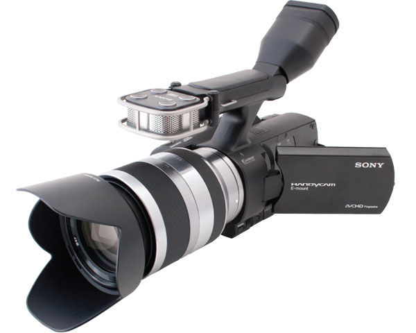Sony NEX-VG20H Interchangeable Lens Camera Review