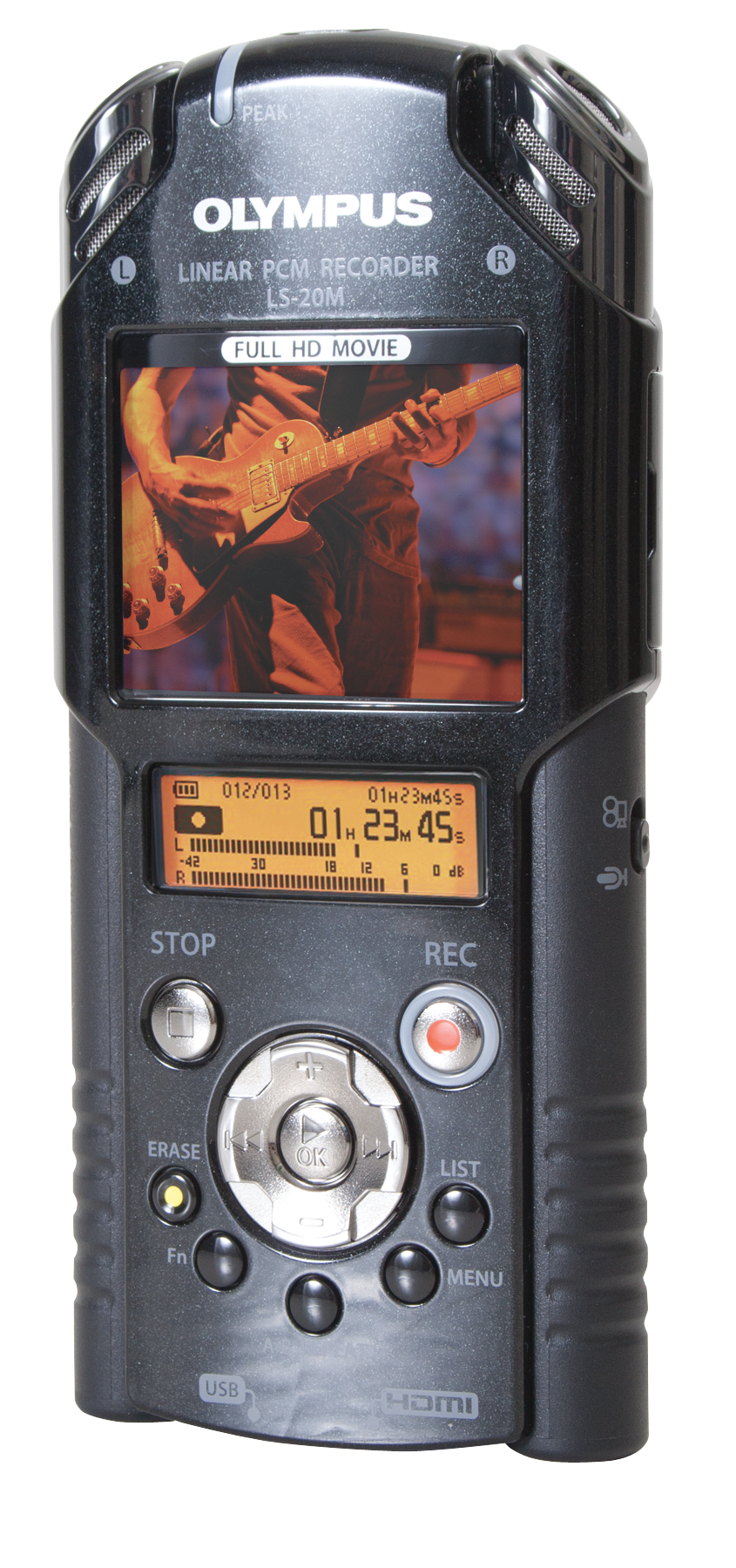 Photo of the Olympus LS-20M Audio/Video Recorder