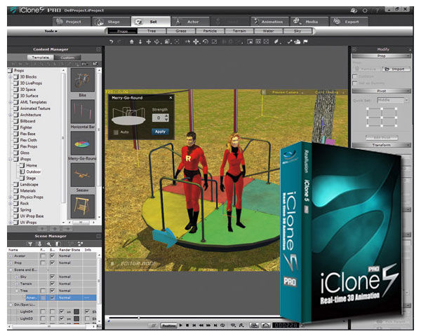 reallusion-iclone-5-software