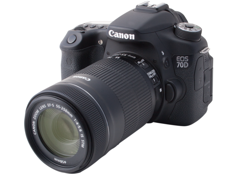Image of the Canon EOS 70D