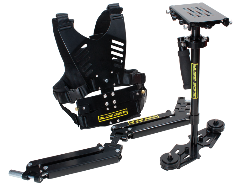 Glide Gear DNA 5050 Pro Stabilizer With DNA 6000 Vest and Arm Stabilization Kit