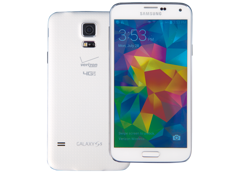Photo of Galaxy S5 smartphone