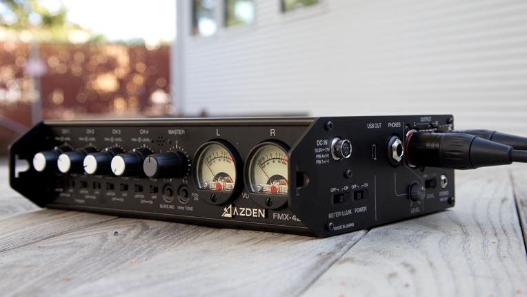Azden FMX-42u Portable Mixer
