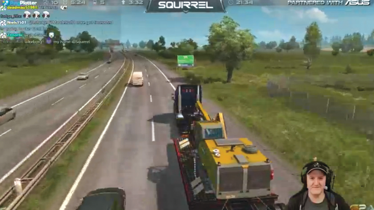 Let's player Squirrel - Truck Simulator