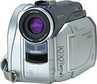 Mini DVD Camcorder Review:Sony DCR-DVD300 DVD-R/-RW