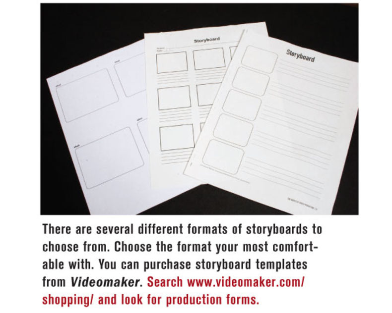 The Perfect Plan: Storyboard And Shot List Creation   Videomaker.Com