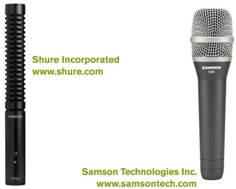 microphone-shure-samson