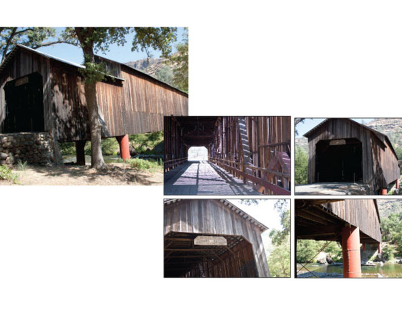 Covered bridges aren't just in Iowa's Madison County, but they're rare and a perfect example of something you might have in your area that someone else will pay to use. Getting multiple angles gives your users more options and gives you more possible revenue from the photo shoot.