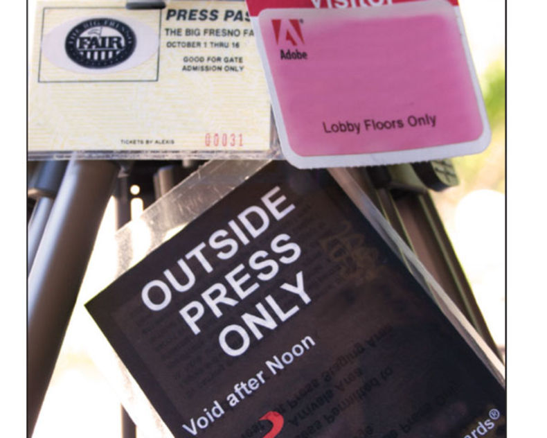 Press passes are not one-size-fits-all, and the pass you have might have restrictions, so, investigate your access.