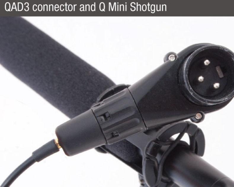 que-audio-q-sniper-kit-QAD3-connector-mini-shotgun