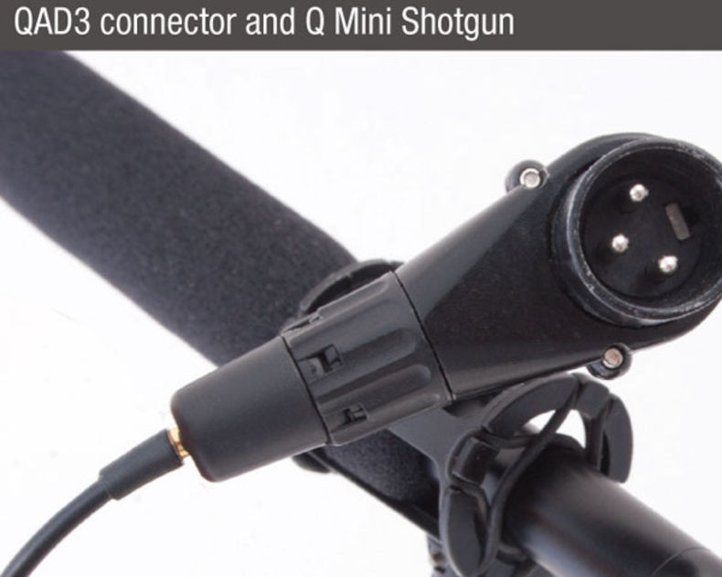 que-audio-q-sniper-kit-QAD3-connector-mini-shotgun