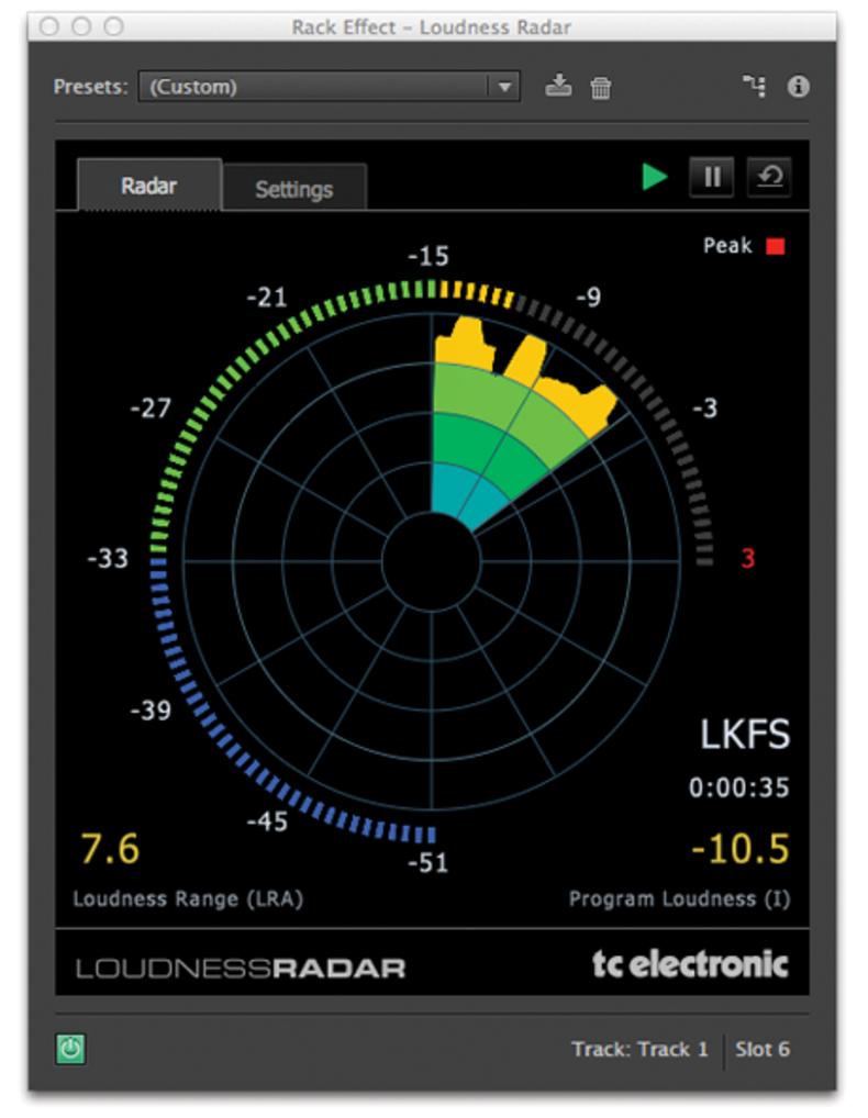 Adobe Audition Creative Cloud Loudness Radar