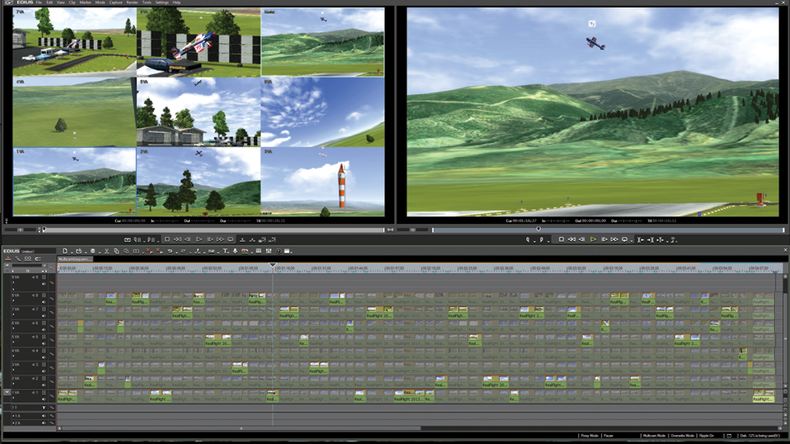 Edited multi-cam Sequence