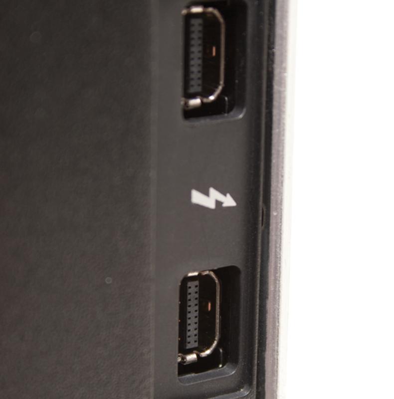 Dual Thunderbolt 2 ports