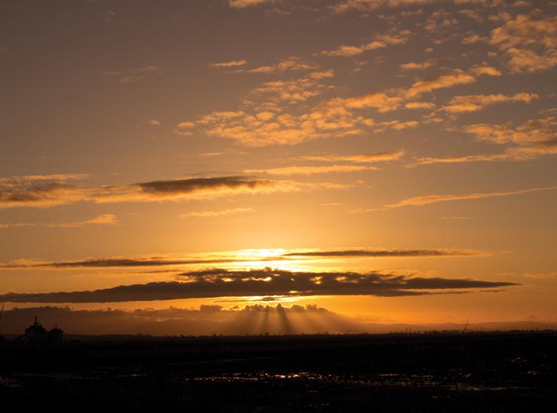Dynamic sunrise