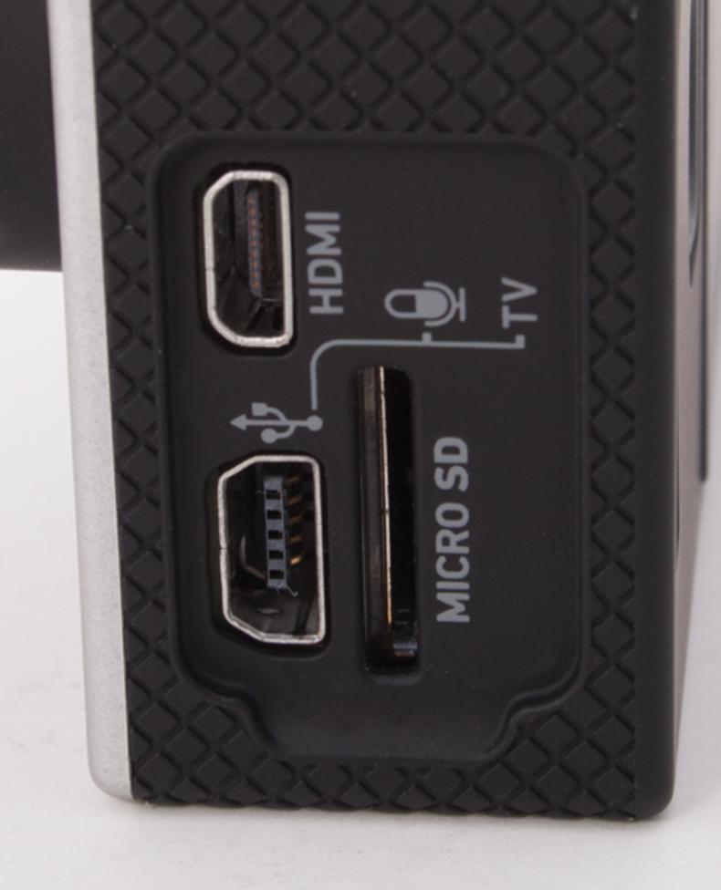 Close up shot of side ports