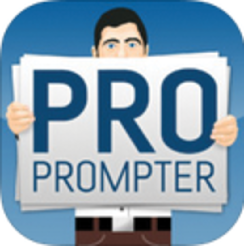 ProPrompter ($10, iOS)