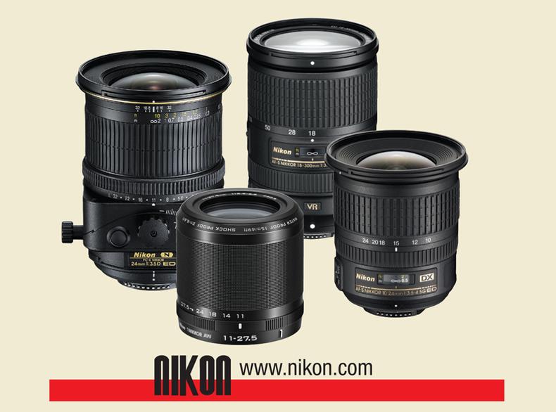 Assortment of Nikon Lenses