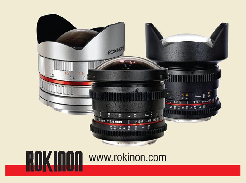 Assortment of Rokinon Lenses