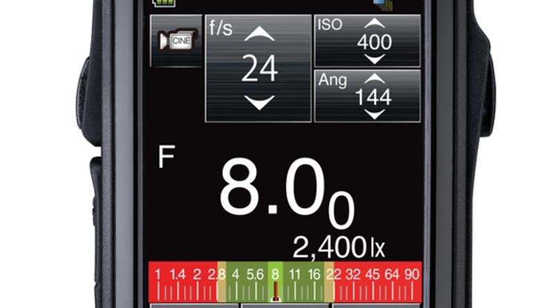 Photo of Sekonic light meter.