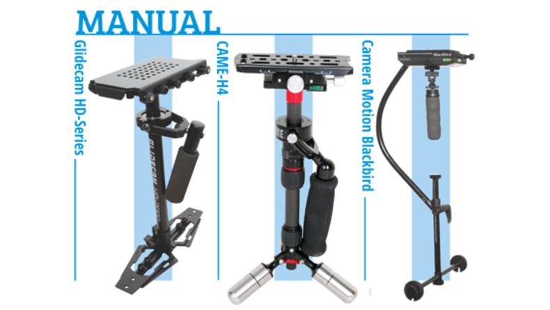 Manual Gimbals - Glidecam HD-Series, CAME-H4, Camera Motion Blackbird