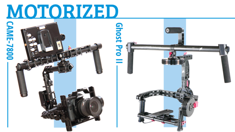 Motorized Gimbals - CAME-7800, Ghost Pro II