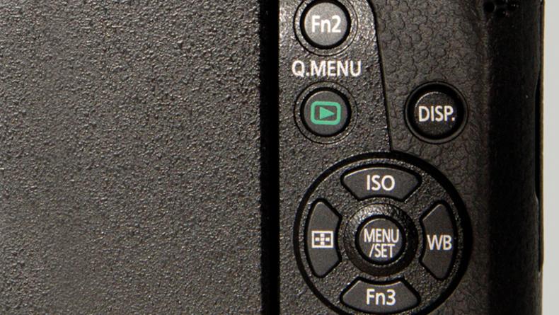 Panasonic Lumix DMC-G7 Programmable buttons
