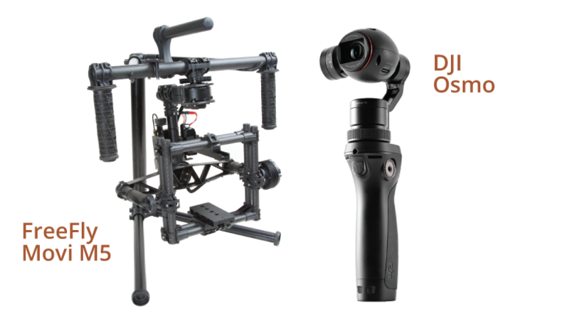 Free Fly Movi M5 and D JI Osmo