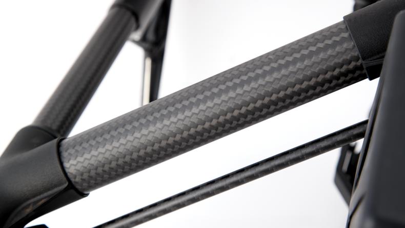 Carbon fiber arms