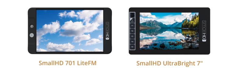 "SmallHD 701 Lite and SmallHD UltraBright 7"""