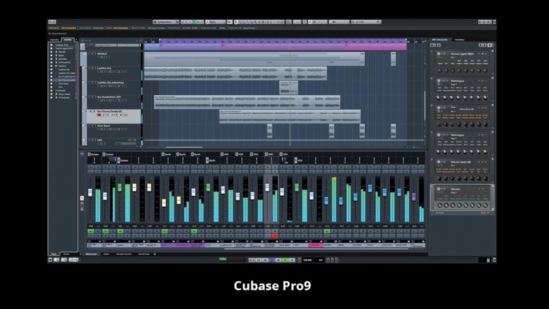 Cubase Pro9