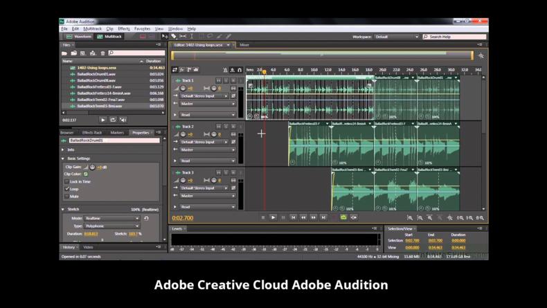 Adobe Creative Cloud Adobe Audition